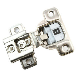 """25 Pack Salice 106 Deg 1/2"""" Overlay Screw on Soft Close Cabinet Hinge CUP37D9R"""