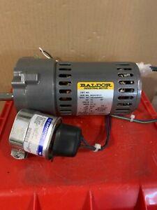Baldor Gearmotor #24E344W099G1 (115 volt) used