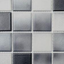 Keramikmosaik grau anthrazit Boden Wand Küche Dusche Art:WB16-2211-R10|1 Matte