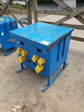 7.5 KVA  single 1 phase 110 volt 16/32 Amp Electric Transformer £65+vat T3