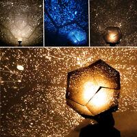 3 Colors Romantic Astro Star Sky Laser Projector Cosmos Night Lamp Xmas Gift