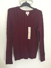 Brand New Cable Knit St John's Bay Jumper - Large Size 14/16