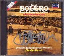 Charles DUTOIT Signiert RAVEL Bolero La Valse Rapsodie Espagnole Alborada CD