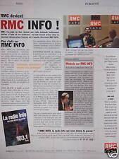 PUBLICITÉ 2001 RMC INFO CHRISTIAN SPITZ - LA RADIO INFO 103.1 PARIS
