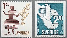 Timbre SUÈDE / Stamp SWEDEN Yvert et Tellier n°1219 et 1220 n** (cyn9)