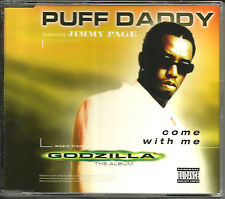 PUFF DADDY & JIMMY PAGE Come with me APOLLO FOUR FORTY MIX CD Single Tom Morello