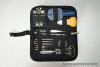 Uhr Uhrmacher Werkzeugsatz Werkzeug Reparatur Uhren Set 30 Teilig mit Tasche Kom
