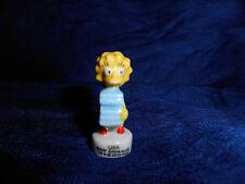LISA SIMPSON Miniature Figurine FRENCH Porcelain FEVES Figure SIMPSONS SCHOOL