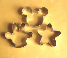 Mickey Mouse Theme Cookie cutter Baking Biscuit Stainless Steel Mold Set