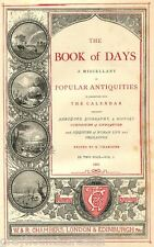 Chambers Book of Days Vintage Book on Data Disc Antiquities & Curiosities