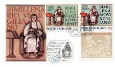 Vatican 1981 Mi FDC 783-84 Publius Vergilius