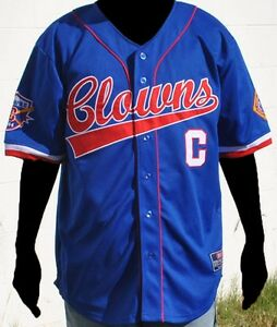 NLBM Indianapolis Clowns Baseball Jersey Blue
