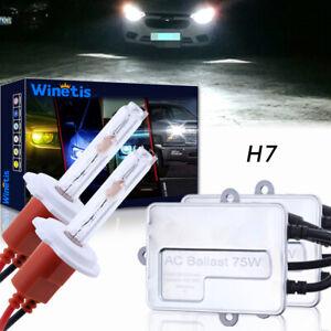 75W WINETIS H7 HID Headlight Bulb Low beam for Subaru Legacy 05-14 Cool White