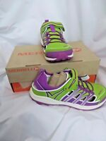 Merrell Kids sz 4.5 youth Mix Master H2O Sandal Water Shoes Lime Purple Girls