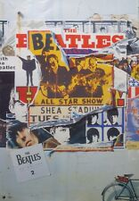 """BEATLES """"ANTHOLOGY 2 COVER"""" U.S. PROMO POSTER - Lennon,McCartney,Harrison,Starr"""