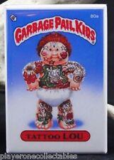 """Garbage Pail Kids Tattoo Lou 2"""" X 3"""" Fridge / Locker Magnet."""
