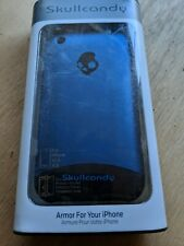 Skullcandy Iphone 3G/3GS Screen Protector and Case in Blue - New