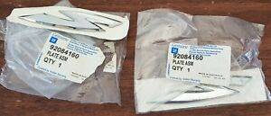 S Badge Holden x 1 VY VZ Commodore Genuine Part NOS PN:92084160