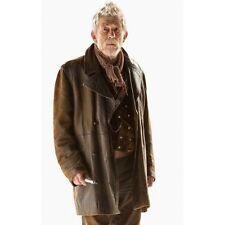 John Hurt's War Doctor Who Costume Leather Coat Jacket High Quality