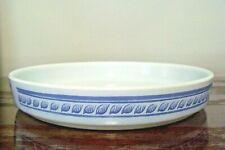 "Pyrex Quiche Dish Brittany Blue #486B 9 1/2"""