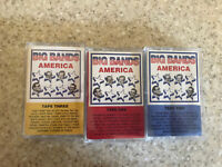 Big Bands America Cassette Tapes 1 2 3 RCA