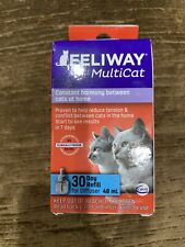 ‼�� Feliway MultiCat Refill for Cats Exp. 8/21 {Brand New}�‼�