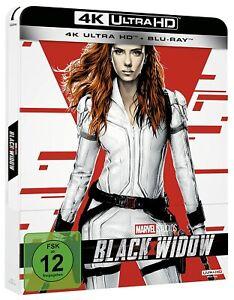Black Widow [4K Ultra HD Blu-ray & Blu-ray im Steelbook /NEU/OVP] Marvel