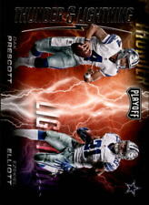 2017 Playoff Football Thunder and Lightning Insert Singles (Pick Your Cards)