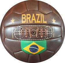 Brazil - Vintage Leather Soccer Ball 1966 -- 100% leather | TOP SELLER