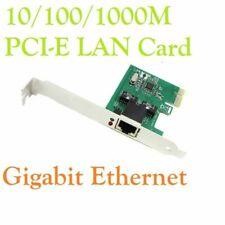Gigabit Ethernet LAN PCI-E Express Network Card Desktop Controller 10/100/1000M