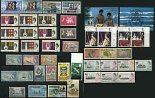 BRITISH COMMONWEALTH Island Territory Colony Postage Stamp Collection Used MNH