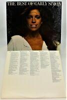 The Best of Carly Simon LP 1975 Elektra 6E-109 You're So Vain VG+ Shrink Wrap
