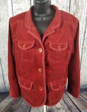 L.L Bean Women's Corduroy Blazer Coat Jacket Size XL- Petite.   (G1)