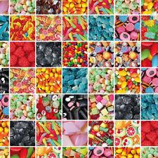 Lámina Adhesiva Autoadhesiva película decorativa 12867 Candy Caramelo de colores