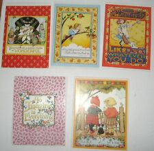 Mary Engelbreit 5 Note Cards and Envelopes Variety Pack Five Different
