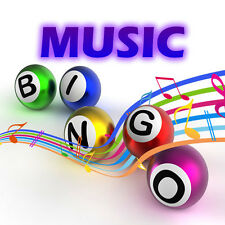 Music Bingo Game Golden Oldies:2- Pubs/Clubs/DJ's Fund Raising - Parties  etc