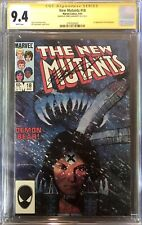 New Mutants #18 - CGC 9.4 NM - 1st Warlock! SIGNED by Chris Claremont