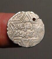 IS74-11  AYYUBID: Branch at Aleppo.   al-Zahir Ghazi,  AH582-613   silver dirham