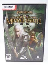 The Lord of the Rings Battle for Middle Earth 2 II PC DVD *Boxed & Complete*