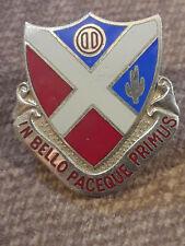 US Army 5th Corps Artillery crest DUI clutchback badge V-21
