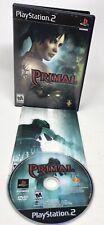 Primal Sony Playstation 2 PS2 Black Label Complete in Box CIB