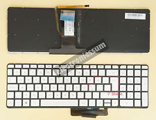 Swedish Nordic Keyboard for HP X360 15-u000 15-u100no 15-u230no 15t-u000 Backlit