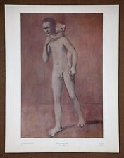 Picasso  The Two Brothers  Vintage 1st Limited Edition Original 1960 Lithograph