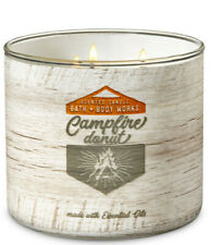 Bath & Body Works Campfire Donut Three Wick 14.5 Ounces Scented Candle