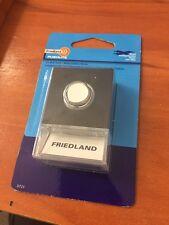 4x Illuminated Door Bell Press Hard Wired - Friedland