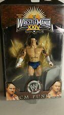 WWE WRESTLE MANIA XXIV CM PUNK ACTION FIGURE(044)