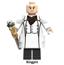 KINGPIN Character Rare Minfigures Lego MOC MARVEL DC universe 250297 Figure