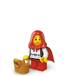 "LEGO Minifigure #8831 Series 7 ""GRANDMA VISITOR"" RED RIDING HOOD"
