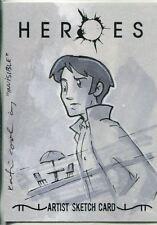 Heroes Volume 1 Sketch Card By Katie Cook