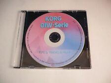 Korg 01W-Serie - Das EINSTEIGERBUCH auf CD mit Tips & Tricks von Sound Art !!!